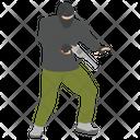 Attack Shoot Kill Icon