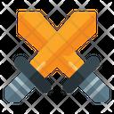 Attack Battle Game Swords Icon
