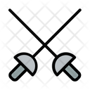 Attack Fencing Game Icon
