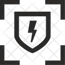 Attack Target Ddos Icon