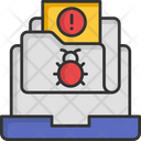 Attacks Cyber Bug Spam Email Icon