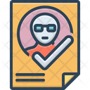 Attendance Presence Impendence Icon