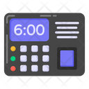 Biometric Attendance Attendance Machine Digital Attendance Icon