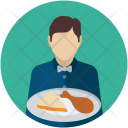 Attendant Butler Food Icon