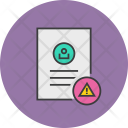 Attention Mistakes Document Icon