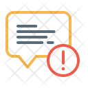 Attention Interaction Message Icon