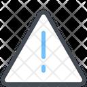 Attention Error Warning Icon