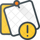 Attention Task Message Icon