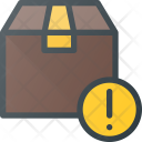 Attention Box Shipping Icon
