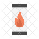 Attention Caution Fire Icon