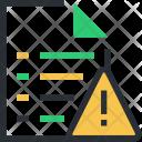 Attention Caution Error Icon