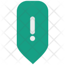 Attention Warning Place Icon