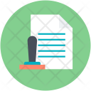 Attested Authorization Document Icon