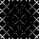Attic Fan Ventilation Fan Wall Fan Icon