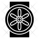 Attic Fan Icon