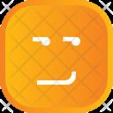Attitude Face Smiley Icon
