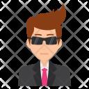 Sunglasses Boss Confident Icon