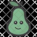 Attitude Pear Face Icon