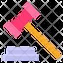 Attorney Law Financial Justice Icon