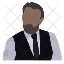 Attorney Businessman Diplomat Icon