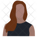 Attorney Businesswoman Correspondent Icon