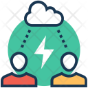 Attraction Thunder Power Icon