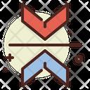 Attraction Arrow Attraction Magnet Icon