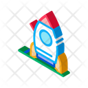 Attraction Rocket Playground Icon