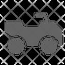 Atv Quadricycle Vehicle Icon