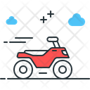 Atv Extreme Dirt Bike Icon