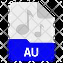 Au File Format Icon