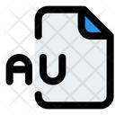 Au File Audio File Audio Format Icon