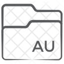 Au Folder Folder Type Folder Format Icon