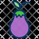 Bringle Eggplant Vegetable Icon