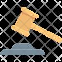 Auction Hammer Bid Icon