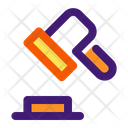 Auction Hammer Law Icon