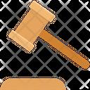 Gavel Mallet Auction Hammer Icon