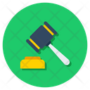 Auction Justice Order Icon