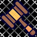 Auction Judge Transaction Icon