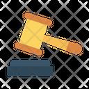 Auction Law Court Icon