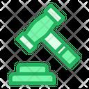Hammer Gavel Justice Icon