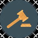 Auction Gavel Verdict Icon