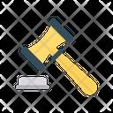 Auction Hammer Gavel Icon