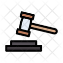 Law Court Legal Icon