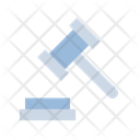 Auction Court Law Icon
