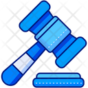 Auction Hammer Judge Icon