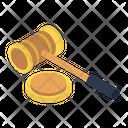 Auction No Bidding Law Icon