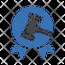 Badge Auction Bid Icon