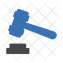 Gavel Auction Bid Icon