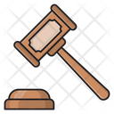 Auction Legal Hammer Icon